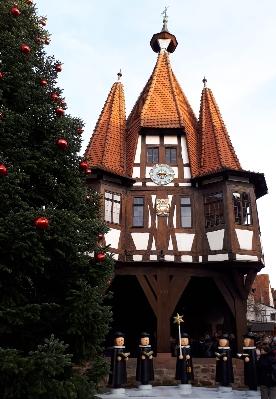 Ausflug zum Weihnachtsmarkt nach Michelstadt im Odenwald