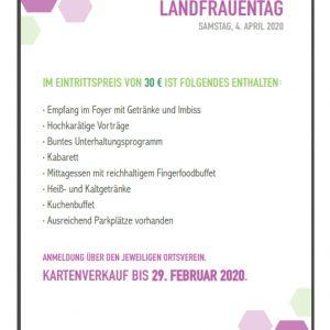 Regionaler LandFrauentag in Schwäbisch Hall