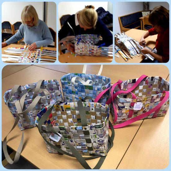 Kreativkurs Recyclingtaschen